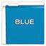 Pendaflex® Reinforced Hanging Folders, 1/5 Tab, Letter, Blue, 25/Box Thumbnail 6