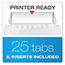 Pendaflex® Reinforced Hanging Folders, 1/5 Tab, Letter, Blue, 25/Box Thumbnail 3