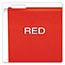 Pendaflex® Reinforced Hanging Folders, 1/5 Tab, Letter, Red, 25/Box Thumbnail 5