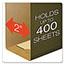"Pendaflex® Reinforced 2"" Extra Capacity Hanging Folders, 1/5 Tab, Letter, Green, 25/Box Thumbnail 7"