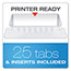 "Pendaflex® Reinforced 4"" Extra Capacity Hanging Folders, Letter, Standard Green, 25/Box Thumbnail 2"