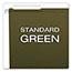 Pendaflex® Reinforced Hanging File Folders, 1/3 Tab, Legal, Standard Green, 25/Box Thumbnail 6