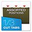 Pendaflex® Reinforced Hanging File Folders, 1/3 Tab, Legal, Standard Green, 25/Box Thumbnail 5