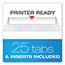 Pendaflex® Reinforced Hanging File Folders, 1/3 Tab, Legal, Standard Green, 25/Box Thumbnail 3
