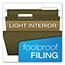 Pendaflex® Reinforced Hanging File Folders, 1/3 Tab, Legal, Standard Green, 25/Box Thumbnail 2