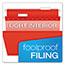 Pendaflex® Reinforced Hanging Folders, 1/5 Tab, Legal, Assorted, 25/Box Thumbnail 2
