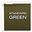 Pendaflex® Reinforced Hanging File Folders, 1/5 Tab, Legal, Standard Green, 25/Box Thumbnail 5
