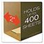 "Pendaflex® Reinforced 2"" Extra Capacity Hanging Folders, Legal, Standard Green, 25/Box Thumbnail 6"
