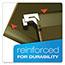 "Pendaflex® Reinforced 2"" Extra Capacity Hanging Folders, Legal, Standard Green, 25/Box Thumbnail 5"