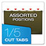 "Pendaflex® Reinforced 2"" Extra Capacity Hanging Folders, Legal, Standard Green, 25/Box Thumbnail 4"