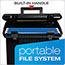 Pendaflex® Portafile File Storage Box, Letter, Plastic, 11 x 14 x 11-1/8, Black Thumbnail 6