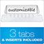 Pendaflex® Portafile File Storage Box, Letter, Plastic, 11 x 14 x 11-1/8, Black Thumbnail 2
