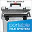 Pendaflex® Portafile File Storage Box, Letter, Plastic, 13 7/8 x 14 x 11 1/8, Granite Thumbnail 6