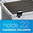 Pendaflex® Portafile File Storage Box, Letter, Plastic, 13 7/8 x 14 x 11 1/8, Granite Thumbnail 5