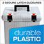 Pendaflex® Portafile File Storage Box, Letter, Plastic, 13 7/8 x 14 x 11 1/8, Granite Thumbnail 4