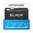 Pendaflex® Portafile File Storage Box, Letter, Plastic, 13 7/8 x 14 x 11 1/8, Granite Thumbnail 3