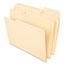 Pendaflex® Interior File Folders, 1/3 Cut Top Tab, Letter, Manila 100/Box Thumbnail 2