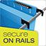 "Pendaflex® SureHook Reinforced Hanging Box Files, 3"" Expansion, Legal, Blue, 25/Box Thumbnail 6"