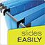 "Pendaflex® SureHook Reinforced Hanging Box Files, 3"" Expansion, Legal, Blue, 25/Box Thumbnail 5"