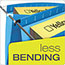 "Pendaflex® SureHook Reinforced Hanging Box Files, 3"" Expansion, Legal, Blue, 25/Box Thumbnail 4"