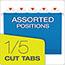 "Pendaflex® SureHook Reinforced Hanging Box Files, 3"" Expansion, Legal, Blue, 25/Box Thumbnail 3"