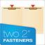 Pendaflex® End Tab Fastener Folders, Two Fastener, Letter, Manila, 50/Box Thumbnail 5