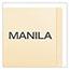 Pendaflex® End Tab Fastener Folders, Two Fastener, Letter, Manila, 50/Box Thumbnail 3