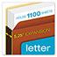 Pendaflex® File Pocket with Tyvek, Top Tab, Straight Cut, 1 Pocket, Letter, Brown, 10/BX Thumbnail 6