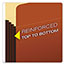 Pendaflex® File Pocket with Tyvek, Top Tab, Straight Cut, 1 Pocket, Letter, Brown, 10/BX Thumbnail 4