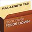 Pendaflex® File Pocket with Tyvek, Top Tab, Straight Cut, 1 Pocket, Letter, Brown, 10/BX Thumbnail 3