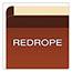 Pendaflex® Premium Reinforced Expanding File Pockets, Straight Cut, 1 Pocket, Letter, Red Thumbnail 5