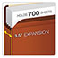 Pendaflex® Premium Reinforced Expanding File Pockets, Straight Cut, 1 Pocket, Letter, Red Thumbnail 4