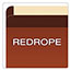 Pendaflex® Premium Reinforced Expanding File Pockets, Straight Cut, 1 Pocket, Legal, Red Thumbnail 5