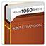 Pendaflex® Premium Reinforced Expanding File Pockets, Straight Cut, 1 Pocket, Legal, Red Thumbnail 4