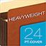 Pendaflex® Heavy-Duty File Pockets, Straight Cut, 1 Pocket, Legal, Redrope Thumbnail 4