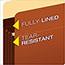 Pendaflex® Heavy-Duty File Pockets, Straight Cut, 1 Pocket, Legal, Redrope Thumbnail 3