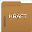 Pendaflex® Kraft Fastener Folders, 2 Fasteners, 1/3 Cut Tabs, Letter, 50/Box Thumbnail 3