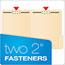 Pendaflex® Fastener Folders, 2 Fasteners, 1/3 Cut Tabs, Letter, Manila, 50/Box Thumbnail 7