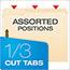 Pendaflex® Fastener Folders, 2 Fasteners, 1/3 Cut Tabs, Letter, Manila, 50/Box Thumbnail 5