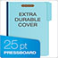 "Pendaflex® Pressboard Folders, 2 Fasteners, 1"" Expansion, 1/3 Cut, Letter, Blue, 25/Box Thumbnail 6"