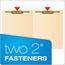 Pendaflex® End Tab Expansion Folders, 2 Fasteners, Straight Cut Tab, Letter, Manila, 50/Box Thumbnail 5