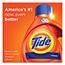 Tide® HE Laundry Detergent, Original Scent, Liquid, 92 oz. Bottle, 64 loads Thumbnail 3