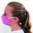 Pongs® Children's Cotton Face Mask, Washable, Pink Plaid Thumbnail 3