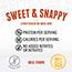 Perky® Jerky Sweet & Snappy Beef Jerky, 2.2 oz., 12/CS Thumbnail 2