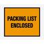 """Tape Logic® Packing List EncloseD Envelopes, 7"""" x 5 1/2"""", Orange, 1000/CS Thumbnail 1"""
