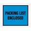 """Tape Logic® Packing List EncloseD Envelopes, 7"""" x 5 1/2"""", Blue, 1000/CS Thumbnail 1"""
