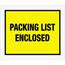 """Tape Logic® Packing List EncloseD Envelopes, 10"""" x 12"""", Yellow, 500/CS Thumbnail 1"""