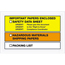 "Tape Logic® SDS Envelopes, Important Papers EncloseD, 6 1/2"" x 10"", Yellow/Orange, 1000/CS Thumbnail 1"