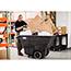 Rubbermaid® Commercial Structural Foam Tilt Truck, Rectangular, 600lb Cap, Black Thumbnail 3