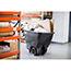 Rubbermaid® Commercial Structural Foam Tilt Truck, Rectangular, 600lb Cap, Black Thumbnail 2